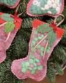 новогодние поделки из ткани
