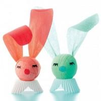 пасхальные кролики из бумаги
