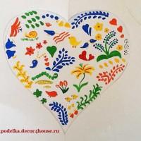 сердце из бумаги своими руками